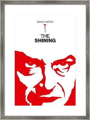 Stanley Kubrick The Shining Movie Poster Framed Print by Kevin Trow