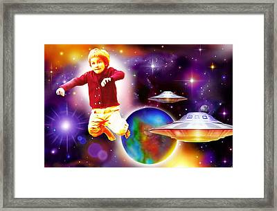 Star Child Framed Print by Hartmut Jager