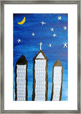 Star City Framed Print by Will Boutin Photos