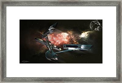 Star Date 6625.331 Framed Print by Peter Chilelli