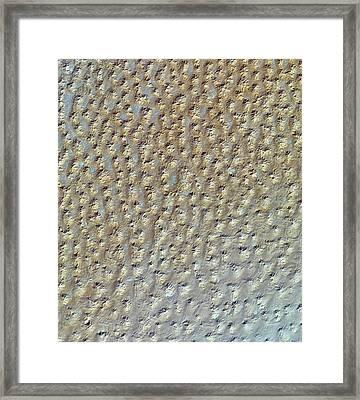 Star Dunes Framed Print by Nasa/gsfc/meti/ersdac/jaros And U.s./japan Aster Science Team