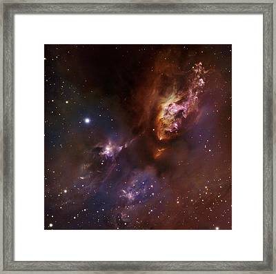 Star-forming Region Ldn 1551 In Taurus Framed Print by Robert Gendler