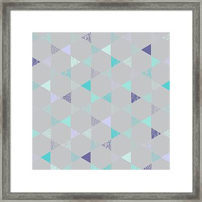 Star Framed Print by Laurence Lavallee