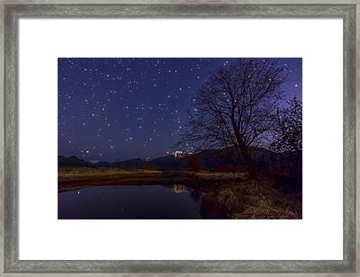 Star Light Star Bright Framed Print by James Wheeler