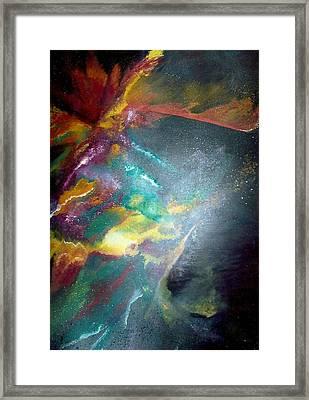 Star Nebula Framed Print by Carrie Maurer