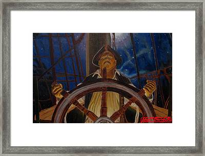 Star Pirates Framed Print by John Paul Blanchette
