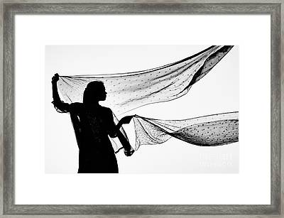 Star Shawls In The Wind Framed Print by Tim Gainey