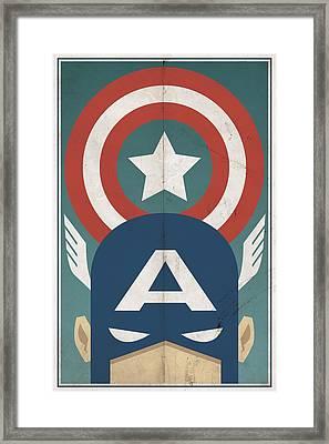 Star-spangled Avenger Framed Print by Michael Myers