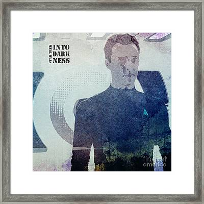 Star Trek Into Darkness Khan Framed Print by Pablo Franchi