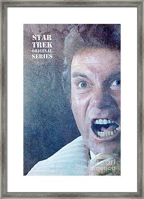 Star Trek Original Series Kirk Khan Framed Print by Pablo Franchi