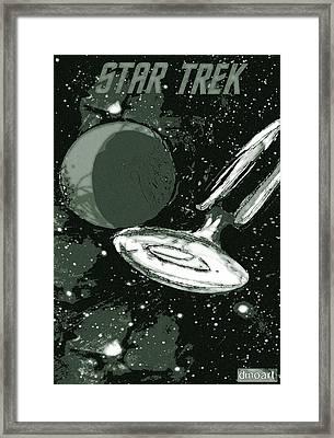 Star Trek Special Edition Framed Print by Jazzboy
