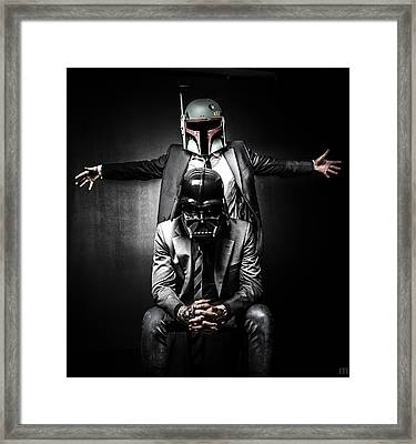 Star Wars Suit Up Framed Print by Marino Flovent