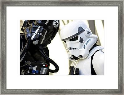 Star Wars  Framed Print by Toppart Sweden