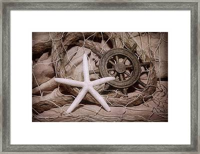 Starfish Still Life Framed Print by Tom Mc Nemar