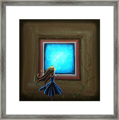 Stargazer Framed Print by Cindy Thornton