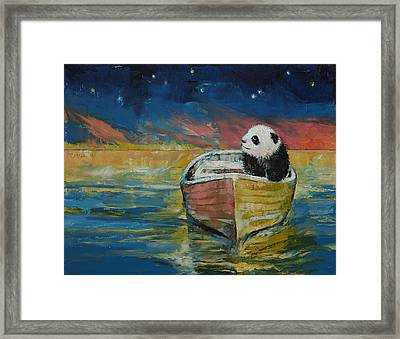Stargazer Framed Print by Michael Creese