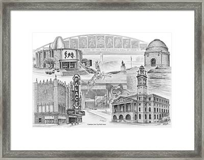 Stark County Ohio Print - Canton Lives Framed Print by Kelli Swan