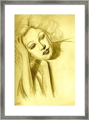 Starlet Framed Print by Jack Joya
