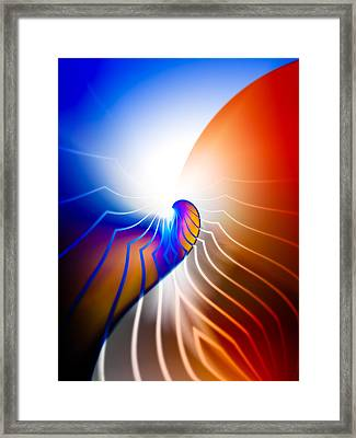 Starlight Framed Print by Hakon Soreide
