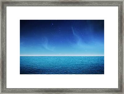 Starlight Lagoon Framed Print by Philippe Meisburger