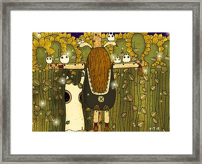 Starlight Framed Print by Yoyo Zhao