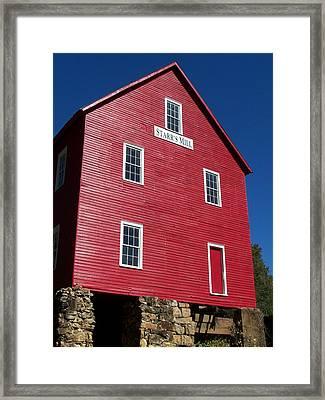 Starr' S Mill 2012 Framed Print by Jake Hartz