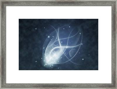 Starry Night Framed Print by Susan Leggett