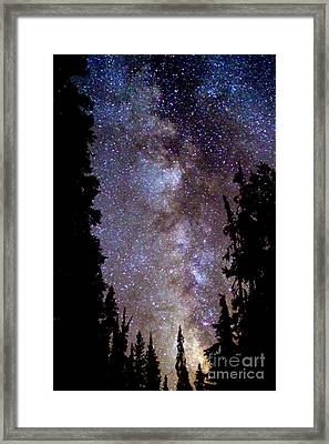 Starry Night -  The Milky Way Framed Print by Douglas Taylor