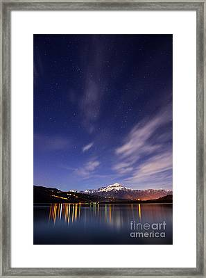Starry Night Framed Print by Yuri Santin