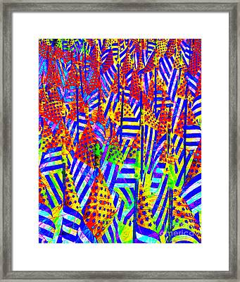Stars And Stripes 20140821 V2 Framed Print by Wingsdomain Art and Photography
