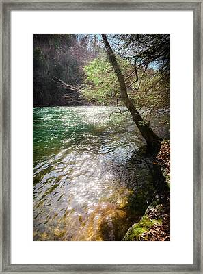 Stars Upon The River Framed Print by Karen Wiles