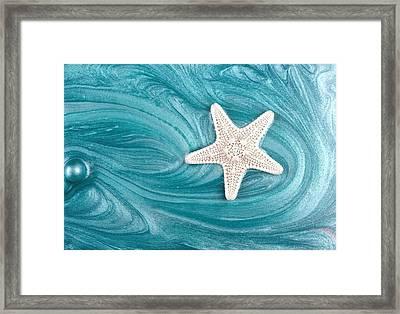 Starswept Framed Print by Chrystyne Novack