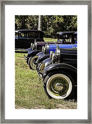 Starting Line Framed Print by M K  Miller