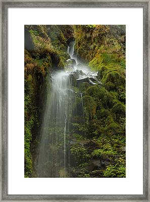 Starvation But Not Dehdration Framed Print by Jean Noren