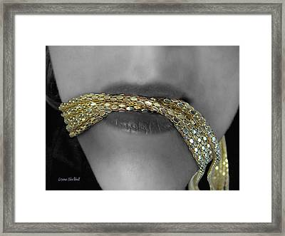 Starving Midas Framed Print by Donna Blackhall