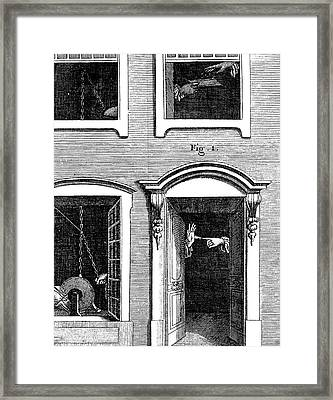 Static Electricity Framed Print by Universal History Archive/uig
