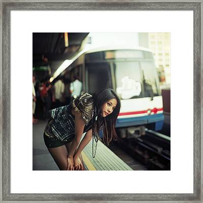 Station To Station Framed Print by Alexander Kuzmin