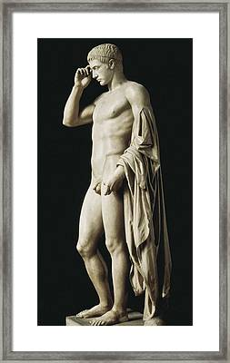 Statue Of Marcellus Statue De Framed Print by Everett