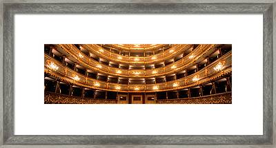Stavovske Theater, Prague, Czech Framed Print by Panoramic Images