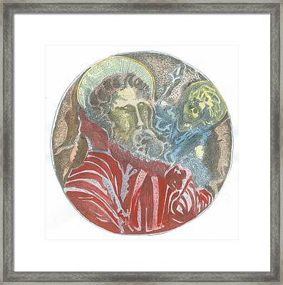 St.christopher 7 Q Framed Print by Marko Jezernik