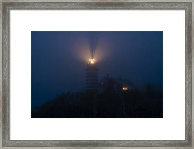 Steadfast Light Framed Print by Marty Saccone