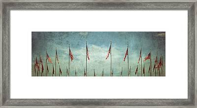 Steadfast Framed Print by Marianna Mills