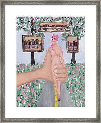 Steady As She Goes Framed Print by Barbara St Jean