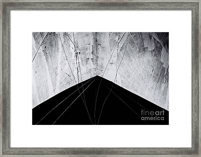 Steady As She Goes Framed Print by Dean Harte