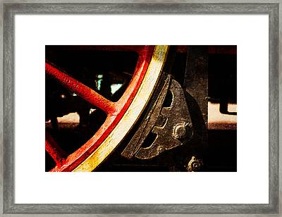 Steam And Iron - Brake Shoe Framed Print by Alexander Senin