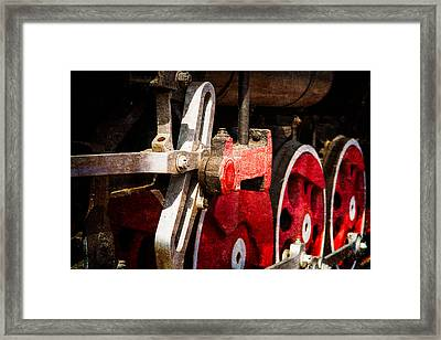 Steam And Iron - Link Motion Drive Framed Print by Alexander Senin
