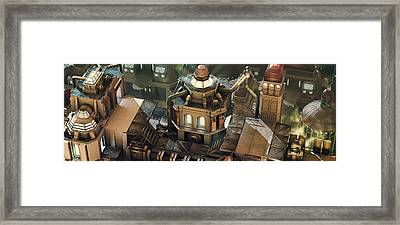 Steam City Framed Print by Marc Orphanos