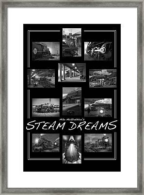 Steam Dreams Framed Print by Mike McGlothlen