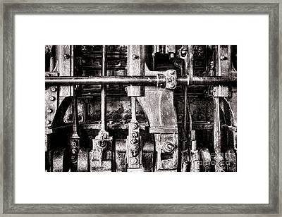 Steam Engine Framed Print by Olivier Le Queinec