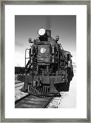 Steam Engine Framed Print by Robert Bales